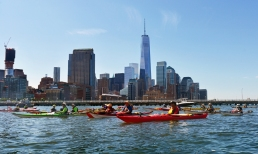 Manhattan Circumnavigation by Sea Kayak